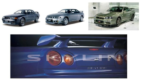 Nissan Skyline GT-R R32  R33 R34 Workshop Manual