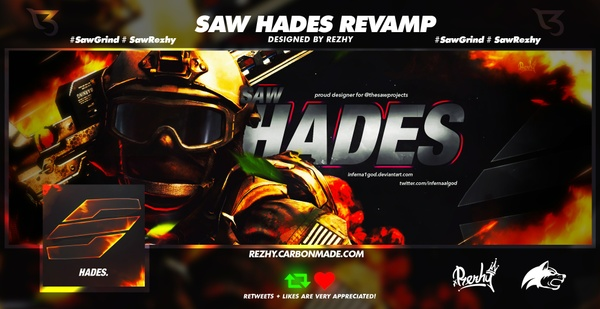 Saw Hades PSD by Rezhy