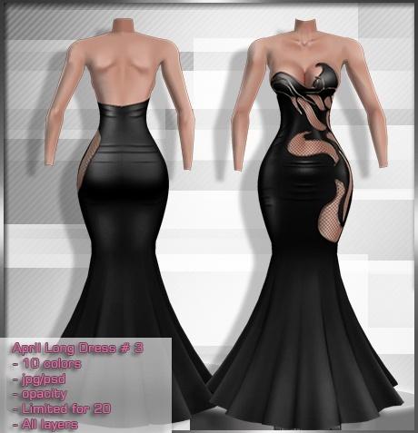 2014 Apr Long Dress # 3