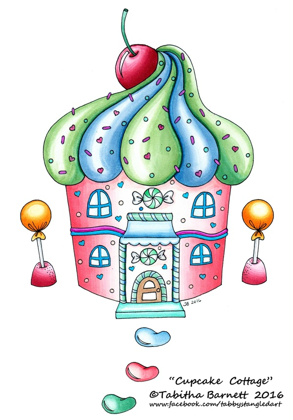 Candy Cove Coloring Pack PDF
