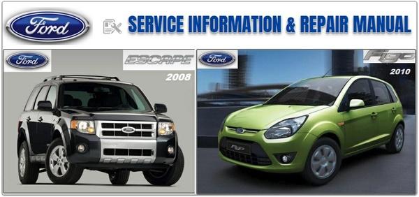 FORD FIGO 2010 & ESCAPE 2008 REPAIR SERVICE MANUAL