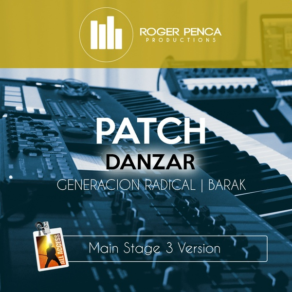 PATCH-Danzar, Generación Radical | Barak (MAIN STAGE 3 VERSION)