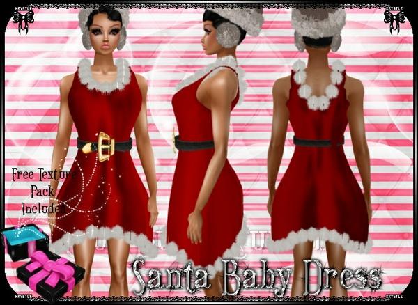 💎 Santa Baby Dress [mesh]