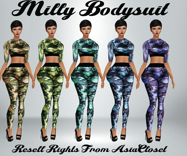 Milly Bodysuit Catty Only!!!