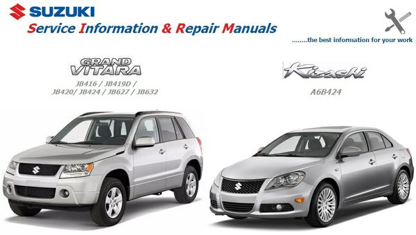 SUZUKI GRAND VITARA & KIZASHI FACTORY SERVICE MANUALS
