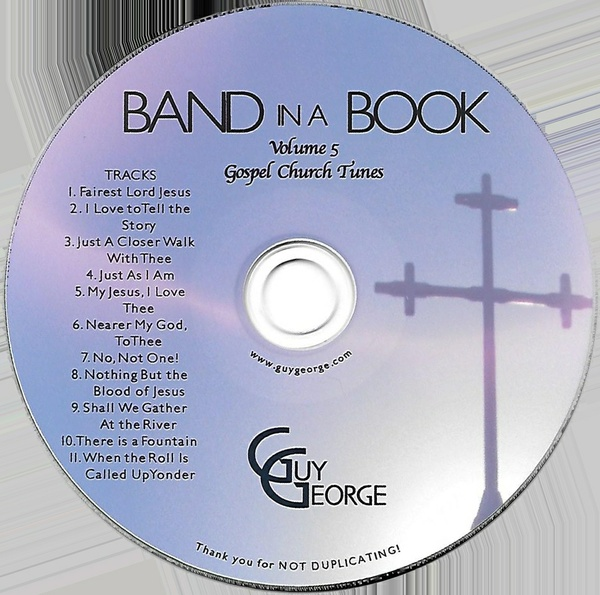 Band In A Book Vol 5- Gospel Church Tunes