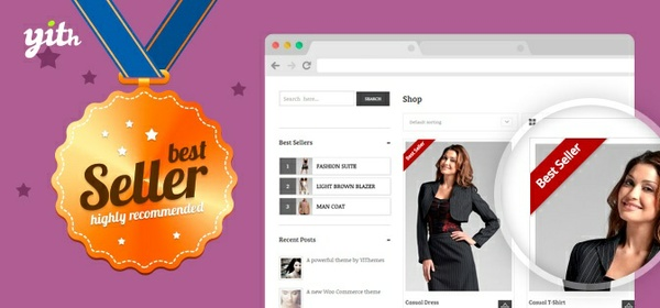 YITH WooCommerce Best Sellers 1.1.1 Extension