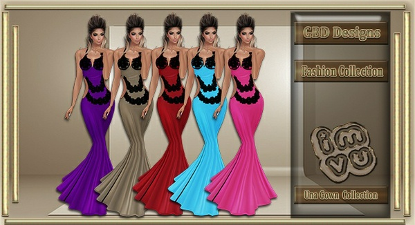 Una Gown Collection CATALOG ONLY