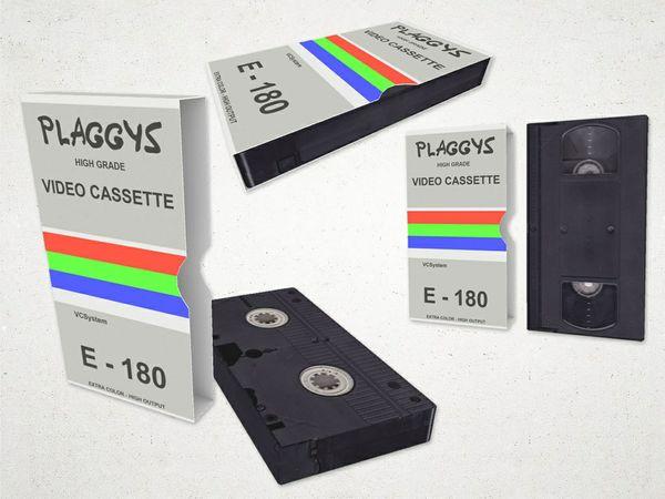 Video Cassette (low poly) - 3D Model