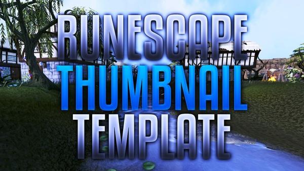 Runescape Thumbnail Template