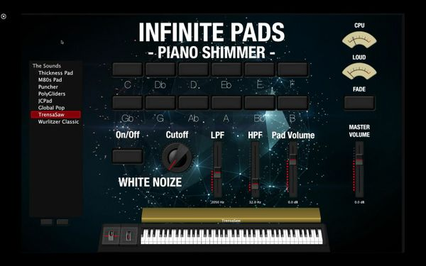 Piano Shimmer Pads - INFINITE PADS EXPANSION