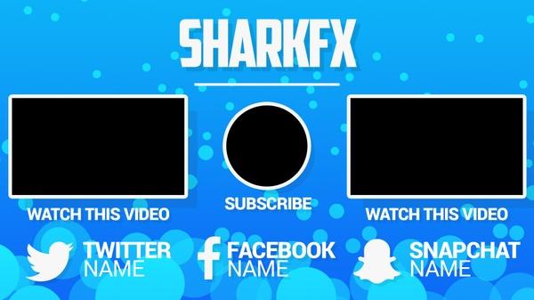 3K Special Outro Template 14/Nov/2016 - SharkFX