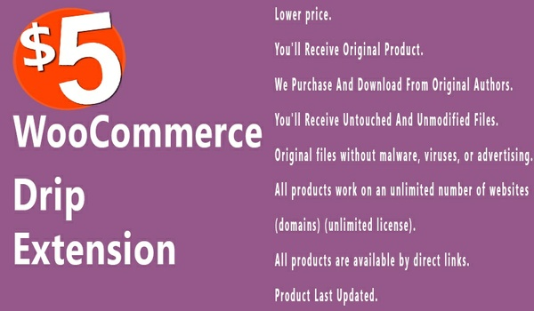 WooCommerce Drip 1.2.9 Extension