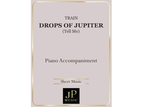 Drops Of Jupiter (Tell Me) - Piano Accompaniment