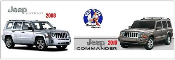 JEEP COMMANDER 2010 & PATRIOT 2008 FACTORY SERVICE MANUAL