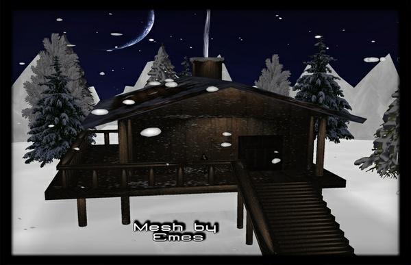 Mesj-Snowy Cabin