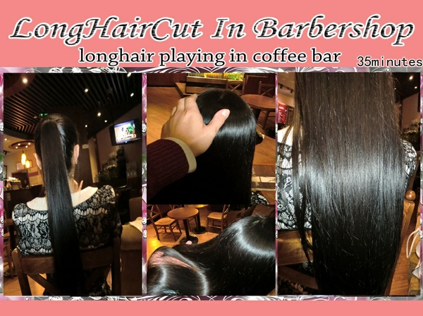 longhair playing in coffee bar