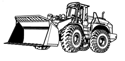 LIEBHERR L580 2plus2 WHEEL LOADER OPERATION & MAINTENANCE MANUAL (Serial number: from 11780)