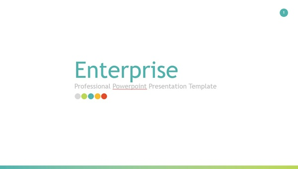 Enterprise Professional Powerpoint Presentation