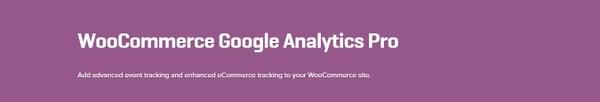 WooCommerce Google Analytics Pro 1.3.4 Extension