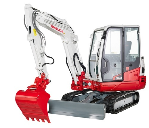 Takeuchi TB240 WETB240_G-XA Mini Excavator Service Repair Workshop Manual (S/N:124000003 & Above)