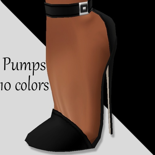 Imvu Pumps 7 inch reshape 10 colors
