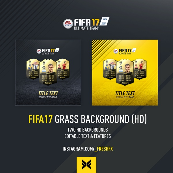 FIFA17 GRASS BACKGROUND (HD)