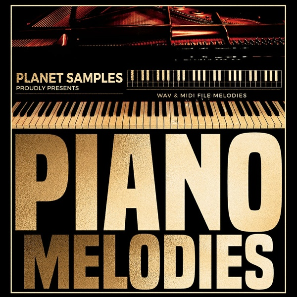 Planet Samples Piano Melodies