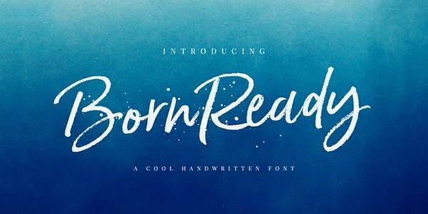 Born Ready Marker | Font Family