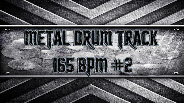 Metal Drum Track 165 BPM #2