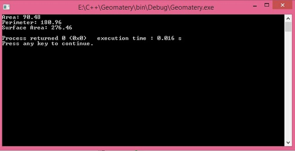Geometer y and pricing inheritance program in C++ complete source code