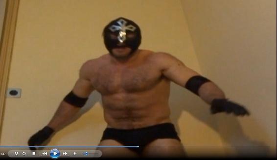 Aaron VS Gary virtual Wrestling