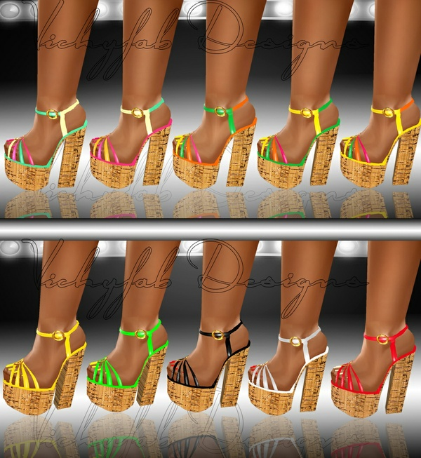Katia Any Shape Boots Texture Bundle3 10 textures ( PNG & PSD)