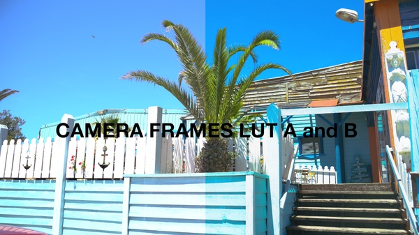 Camera Frames LUT A-B