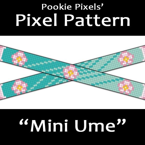 Mini Ume Pixel Pattern