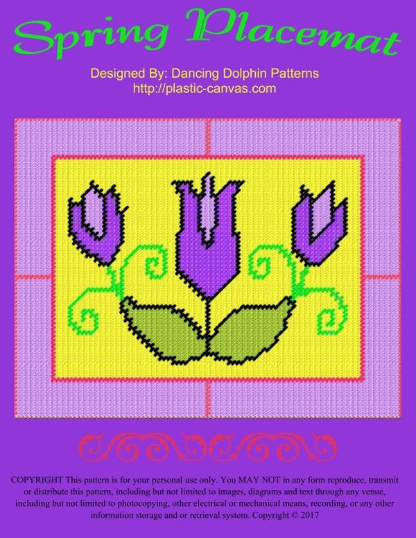 629 - Spring Placemat