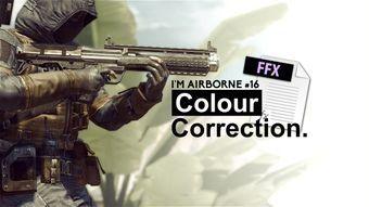 I'm Airborne #16 Colour Correction