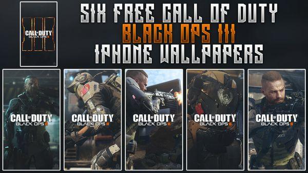 Black Ops III - iPhone Wallpaper Pack