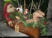 #434 santas sleigh e pattern