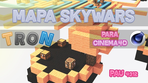 Mapa Skywars #2 (tron)