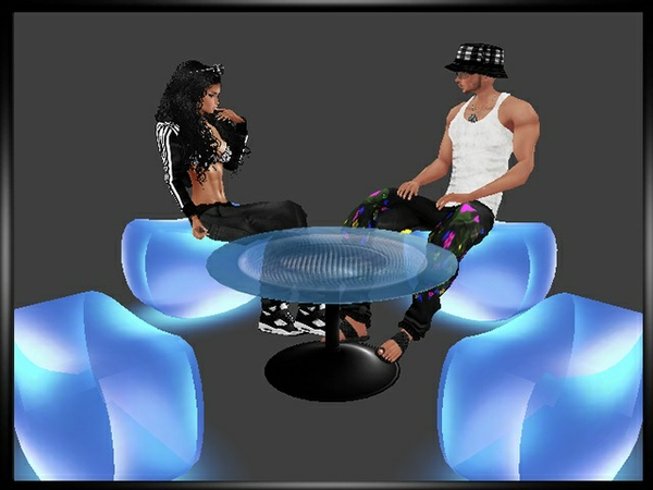 Neon Seats Table