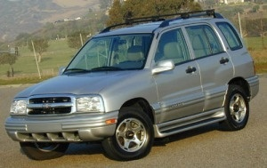 Chevrolet Tracker 1999 to 2004 Service Workshop Repair Manual