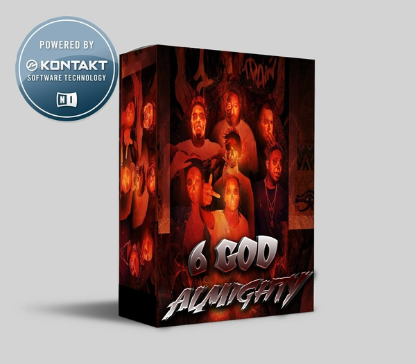 6 GOD ALMIGHTY KONTAKT LIBRARY (TRAP/TRAP SOUL SAMPLES) (UPDATED)