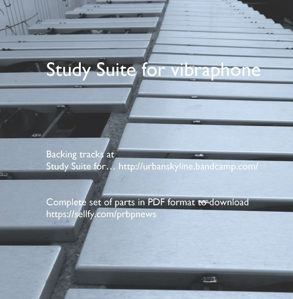 Study Suite for vibraphone