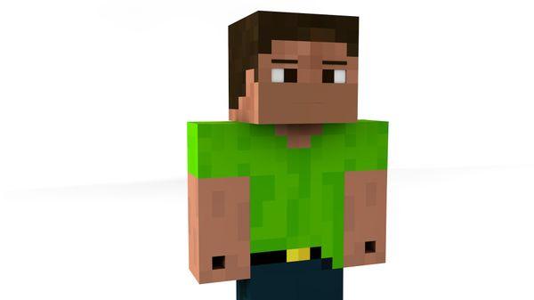3D Minecraft Render