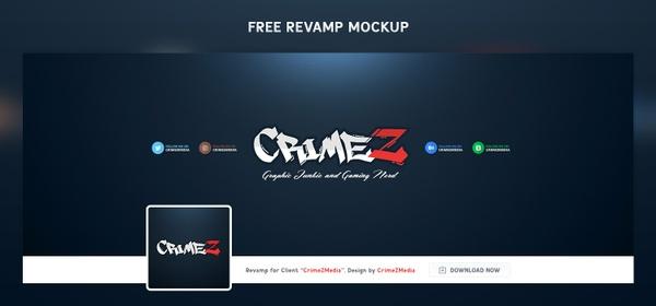 FREE Revamp Twitter Mockup (High Quality)