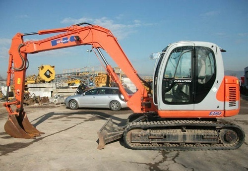 Fiat Kobelco E80 Evolution Exavator Service Repair Workshop Manual Download