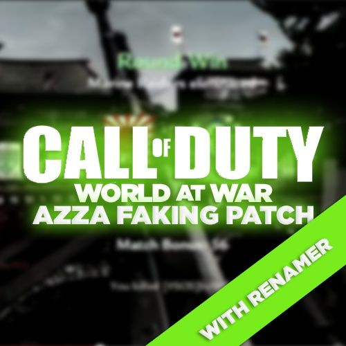 (PS3) WaW Faking Patch WITH Renamer! Azza, No Lock-On Aimbot