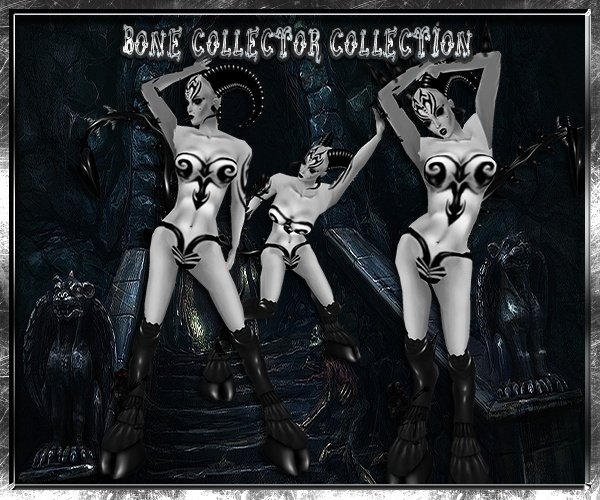 Bone Collector Collection Limited Exclusive Resell Rights!!! 0/6 People