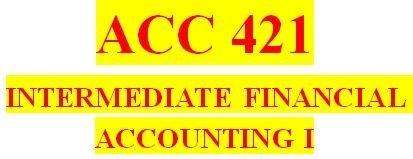 ACC 421 Week 1 Accounting Cycle Paper
